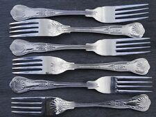 BRAND NEW Table / Dinner Forks King's Pattern Cutlery x 6 stainless steel