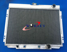 3 Core Aluminum Radiator for Ford Mustang 1967 1968 1969 1970 / Fairlane 1969 V8