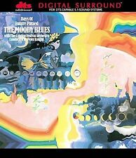 MOODY BLUES - DAYS OF FUTURE PASSED DTS DVD Audio Surround Sound 5.1