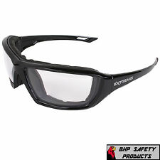 SAFETY GLASSES CLEAR ANTI-FOG LENS EYEWEAR RADIANS XT1-11 EXTREMIS (1 PAIR)
