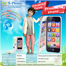 Kid Child Baby Simulator Music Cell Phone Touch Screen Educational Toy Xmas Gift
