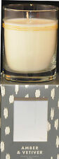 Bella by illume Scented Soy Candle, Amber & Vetiver, 9 oz
