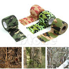 1 Roll 5cm x 4.5m Army Camo Wrap Rifle Hunting Shooting Camouflage Stealth Tape