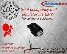 Airbag passenger seat occupancy mat sensor bypass fits BMW  and belt simulator