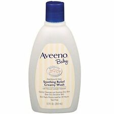 AVEENO Baby Fragrance Free Soothing Relief Creamy Wash 12 oz Each