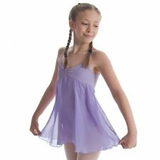 NWT Bloch Lilac Skirted Camisole Leotard Ballet Dance Dress Girls 14 CL7047