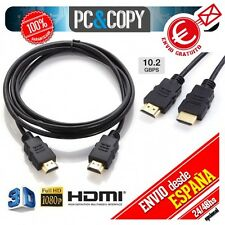 Cable HDMI high speed Full HD 1920*1080p 10.2Gbps TMDS core 1.5m TV XBOX PS3 PS4
