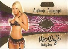 "Benchwarmer 2007 Gold Edition -  #9 of 30 ""Molly Shea"" Auto / Autograph Card"
