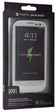 Genuine Mophie Juice Pack For Samsung Galaxy S3 2300mAh Retail Packaging - White