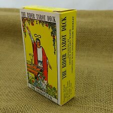 Rider Smith Waite Tarot Card Deck RARE Pre-Copyright Pixie Divination Instruct