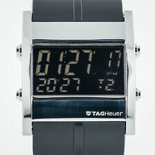 Tag Heuer Microtimer Digital, Quartz, Mens, Rubber Band, CS111C-0