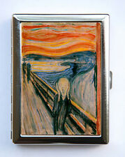 The Sceam Cigarette Case Wallet Business Card Holder Expressionism
