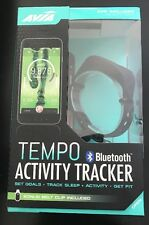 New Avia Tempo Bluetooth Activity Tracker Black (W/ Bonus Belt Clip) AV-CF2002B