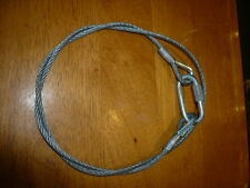 SAFETY CABLE 1 METER FOR STUDIO LIGHT BARN DOORS UNIVERSAL FIT FILM TV THEATRE