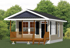 16x32 Tiny House -- 511 sq ft -- PDF Floor Plan -- Model 3