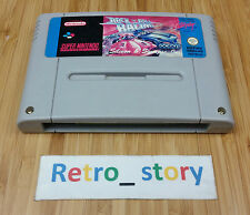 Super Nintendo SNES Rock 'N Roll Racing PAL