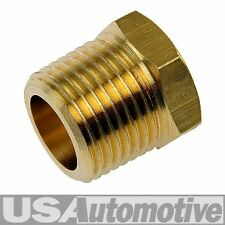 "PIPE FITTING BRASS BUSHING 1/4"" FEMALE NPT x 3/8"" MALE NPT"