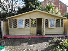 20 x10  19mm T&G loglap summer house   (pressure treated)