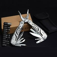 PRO MultiTool Pliers with Kits Hunting Camping Fishing Pocket Tools