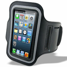 Deportes Running Jogging Brazalete Impermeable Funda Para Iphone 4, 4s Negro