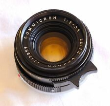 Leica Summicron-M 35mm f/2 Canada Black