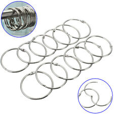 12Pcs Round Stainless Steel Shower Curtain Hooks Fantastic Style Rings Anti Rust