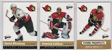 2000-01 UD Vintage Ottawa Senators 14-card Hockey Team Set  Martin Havlat RC