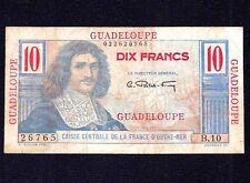GUADELOUPE 10 Francs 1947 - 1949  P-32  (B  10)