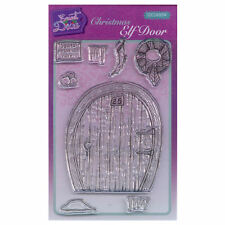 Sweet Dixie A6 Clear Stamp Set - SDCSA6094 Christmas Elf Door