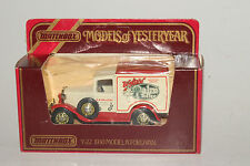 MATCHBOX MODELS OF YESTERYEAR Y-22 1930 FORD MODEL A VAN, WALTER'S TOFFEE, BOXED