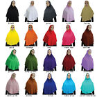 Fashion Soft Muslim Beautiful Hijab Caps Scarf Islamic Scarf Hats