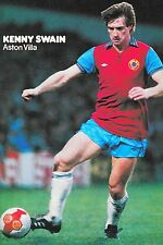 Football Photo KENNY SWAIN Aston Villa 1980-81