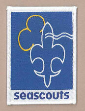 SCOUTS & GUIDES OF BELGIUM - SEA SCOUT & GIRL GUIDES Membership Rank Award Patch