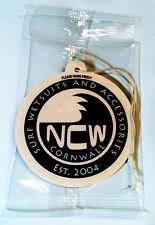 Van / Car AIR FRESHENER Surfing NCW CORNWALL (North Coast Wetsuits) 8cm UK made