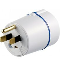 Euro to USA Earthed Adaptor (EU To US) Also Works with Australia Japan Far East