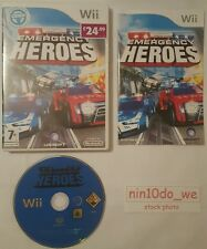 EMERGENCY HEROES (Wii) & U=999 Police Cars+Fire Engine Trucks Rescue/Racing=VGC✔