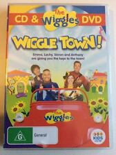 THE WIGGLES: WIGGLE TOWN! - DVD + CD SET, ABC FOR KIDS, BRAND NEW