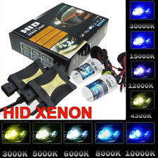 55W SLIM BALLAST HID Xenon Conversion kit Headlights H1 H7 H8 H9 H10 9005 9006