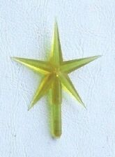 Medium-Sized Yellow Tree Top Star for Ceramic Christmas Tree - New