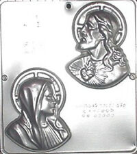 Sacred Heart and Mary Religious Chocolate Candy Mold   401 NEW