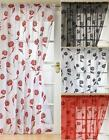 """SICILY Voile Curtain Panel in 7 Colours 48"""" 54"""" 72"""" 90"""""""