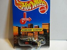 Hot Wheels Limited Edition Jiffy Lube Black Scorchin Scooter Motorcycle