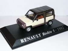 voiture 1/43 M6 Universal Hobbies : RENAULT Rodeo 5 1982