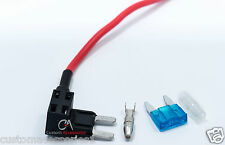 2x MINI ADD A CIRCUIT FUSE PIGGY BACK BLADE HOLDER APM ATM 12v 24v,New