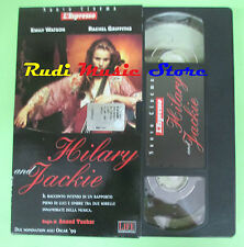 film VHS cartonata HILARY AND JACKIE Watson Griffiths L'ESPRESSO (F77) no dvd