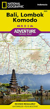 National Geographic Bali Lombok Komodo Adventure Travel Map - Asia Indonesia