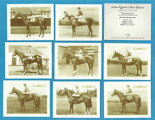 Cigarette/Trade Cards - HORSE RACING - LESTER PIGGOTTS CLASSIC WINNERS  Full set