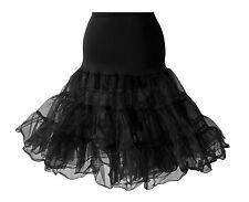 """Red White Black 26"""" Petticoat Underskirt Prom Party Swing Rockabilly Dress Fancy"""