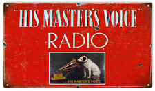 His Masters Voice Phonograph Nostalgic Advertisement