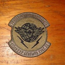 USAF FLIGHT SUIT PATCH,455TH EXPEDITIONARY AEROMED EVAC SQ,SCORPION,W/ VELCR